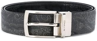 Etro Paisley Print Belt