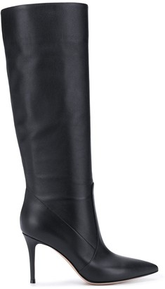 Gianvito Rossi Heather 85mm leather boots