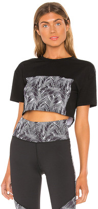 Nubyen Tribal Cropped Tee