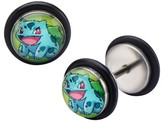 Pokemon Bulbasaur Stainless Steel Screw Back Earrings