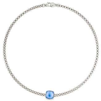 Chimento Doublet Pendant Collar Necklace