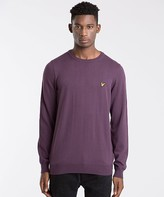 Lyle & Scott Cotton Crew Neck Knit Jumper
