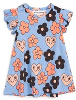 Mini Rodini Infant Girl's Flower Dress