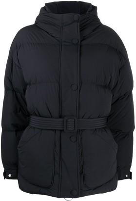 Ienki Ienki Michlin belted puffer coat