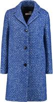 Love Moschino Flecked felt coat