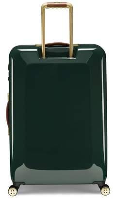 Ted Baker Take Flight Large 4 Wheel Suitcase Illusion Grn