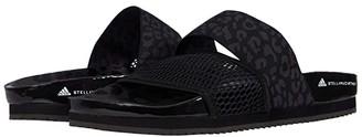adidas by Stella McCartney Stella-Lette Slide Sandal (Core Black/Ultimate Black/Footwear White) Women's Shoes