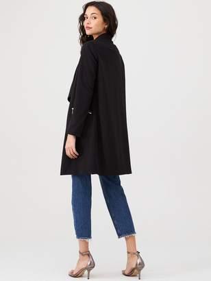 Wallis Lined Scuba Jacket - Black