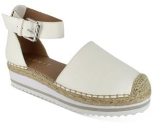 Esprit Halla Ankle-Strap Espadrille Sandals Women's Shoes