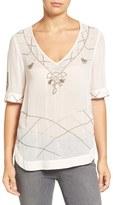 Hinge Women's Embellished Top