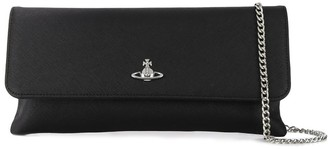Vivienne Westwood Logo Plaque Clutch Bag