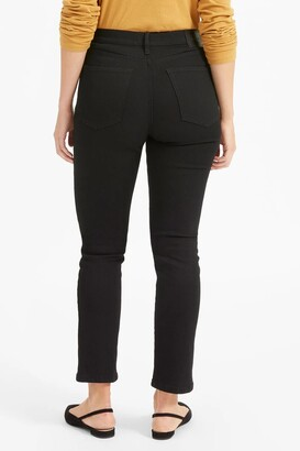 Everlane The Authentic Stretch High-Rise Cigarette Jeans