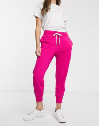 Polo Ralph Lauren classic jogger in pink