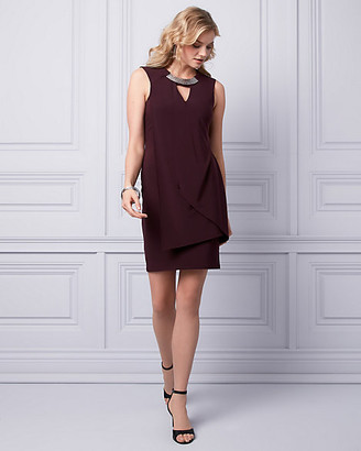 Le Château Knit Cutout Dress