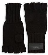 John Varvatos Cashmere-Blend Fingerless Gloves