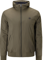 Fred Perry Hooded Brentham Jacket, Wren