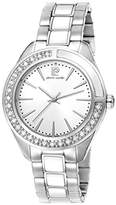 Pierre Cardin Neuilly Women's Quartz Watch with Silver Dial Analogue Display and Silver Stainless Steel Bracelet PC106832S01