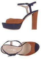 LELLA BALDI Platform sandals