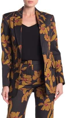 A.L.C. Vernay Floral Wool Blend Blazer