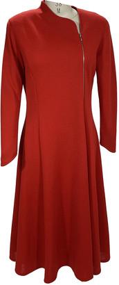Marimekko Red Wool Dresses