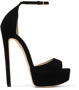 Jimmy Choo Max 150 Suede Sandals