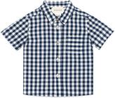 Gucci Baby check cotton shirt