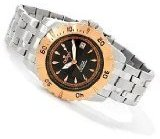 Croton Men's Automatic All Stainless Steel Watch CA301183SSRG