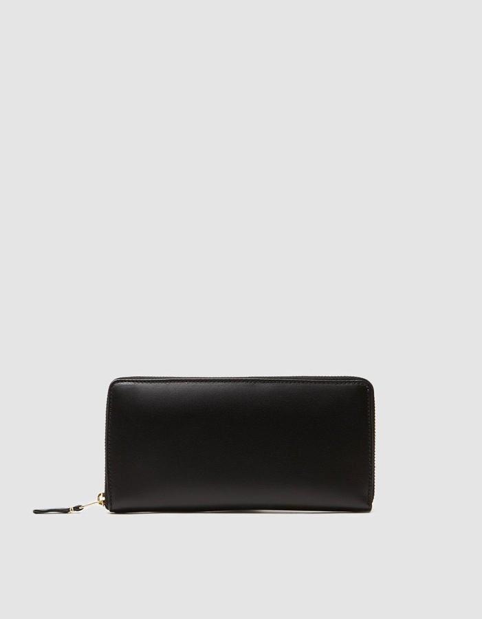 Comme des Garcons Women's Classic Leather Line SA0110 Wallet in Black