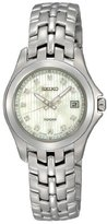 Seiko Diamonds Bracelet Mother-of-pearl Dial Women's watch #SXDC11