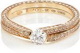 Repossi Women's 2-Row Antifer Ring-PINK
