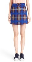 Acne Studios Women's 'Prisca Modern' Plaid Miniskirt