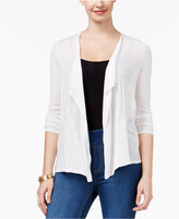 Thalia Sodi Lace-Trim Cardigan, Only at Macy's