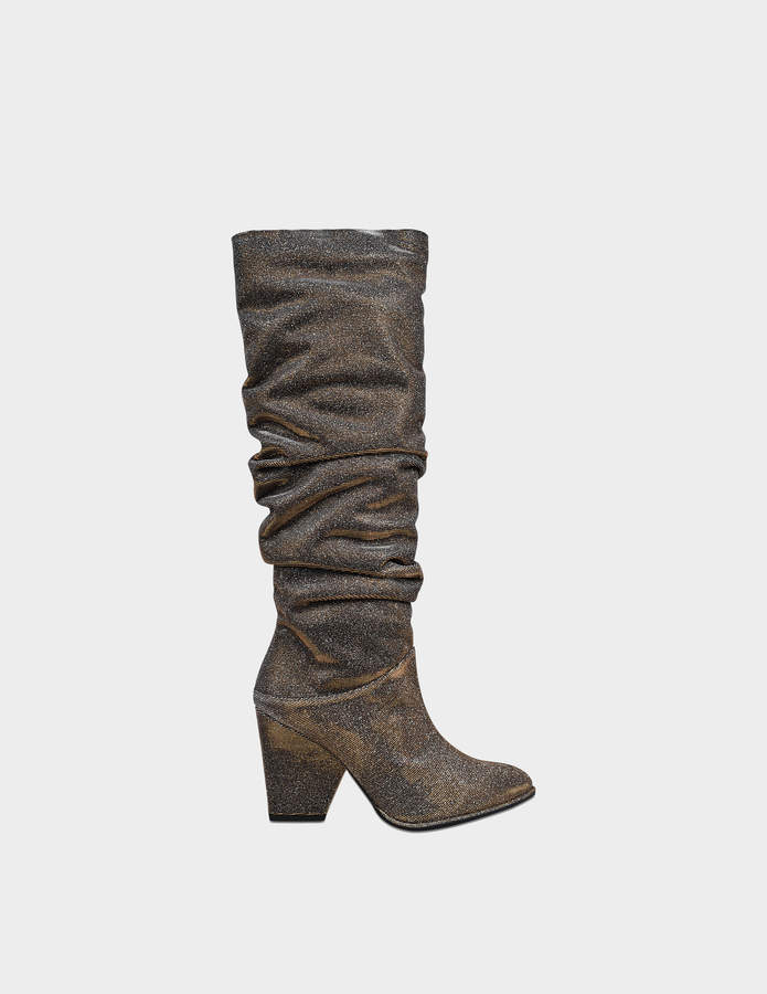 Stuart Weitzman Smashing metallic boots