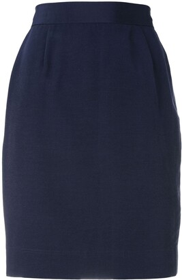 Moschino Pre-Owned High-Waisted Skirt