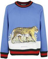 Gucci Tiger Print Sweatshirt