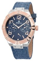 Burgmeister Women's BM611-933 Analog Display Quartz Blue Watch