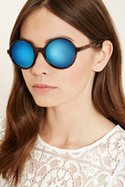 Forever 21 Mirrored Round Sunglasses