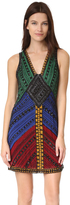 Alice + Olivia Nadia V Neck Dress