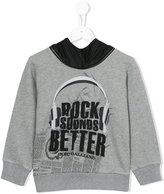 John Galliano Rocks Sounds Better hoodie - kids - Cotton - 4 yrs