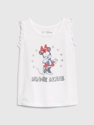 Disney babyGap | Minnie Mouse Ruffle Tank Top