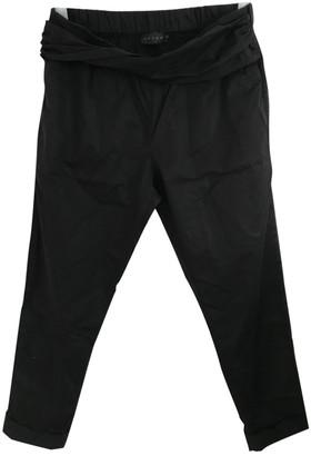 Hatch Black Trousers for Women