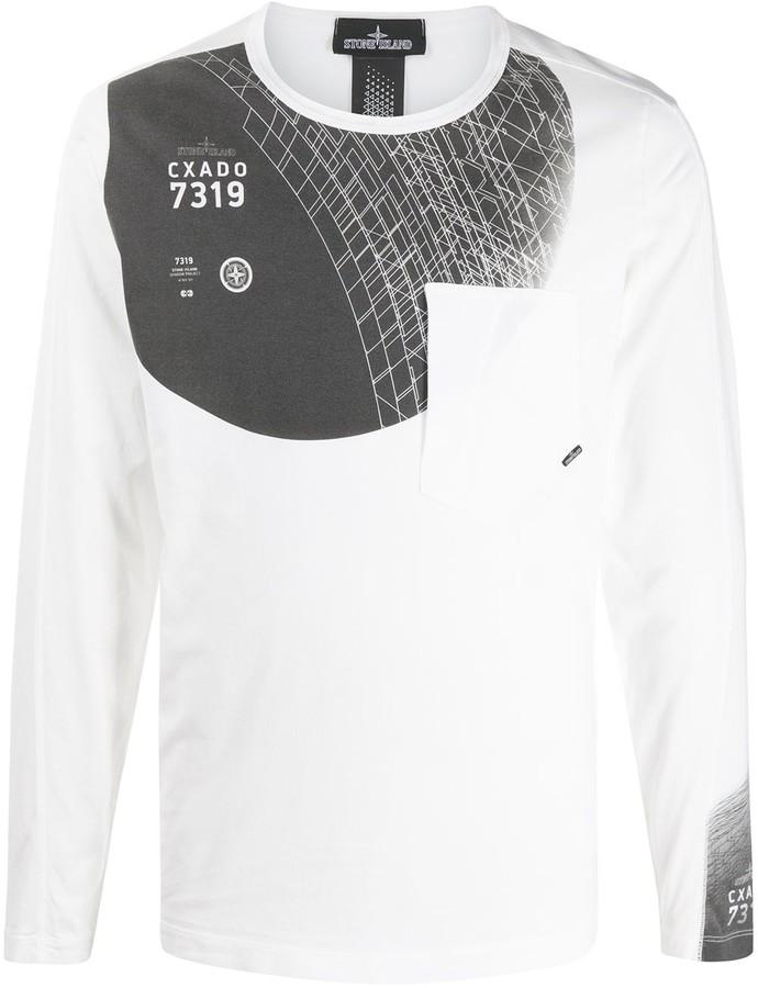 Stone Island Shadow Project 7319 Graphic Sweatshirt