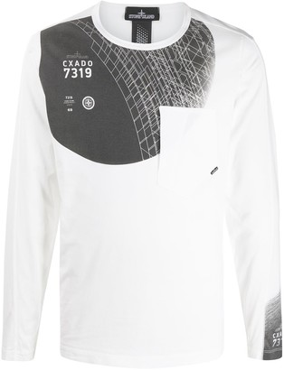 Stone Island Shadow Project 7319 Graphic Sweatshirt
