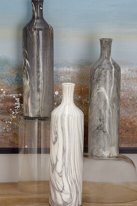 CosmoLiving by Cosmopolitan Multi Marbled Vase - Set of 3