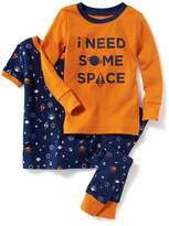 """Old Navy """"I Need Some Space"""" 3-Piece Sleep Set for Toddler & Baby"""