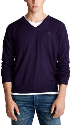 Polo Ralph Lauren Men Merino Wool V-Neck Sweater