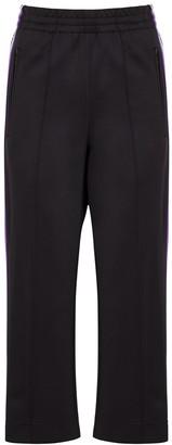 Marc Jacobs Black Logo-jacquard Jersey Sweatpants