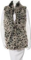 Alice + Olivia Faux Fur Vest