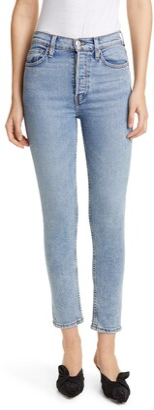 RE/DONE Originals High Waist Crop Jeans