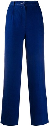 Valentino Pre Owned 1980s High-Waisted Trousers